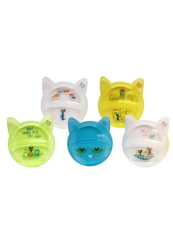 Pete the Cat 5 Piece Plate Set