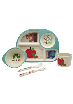 The World of Eric Carle 5 Piece Feeding Set