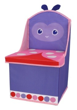 The World of Eric Carle Ladybug Storage Chair