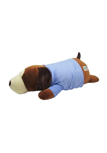 Cuddle Pals Brown Dog Sleepy Cuddles Plush