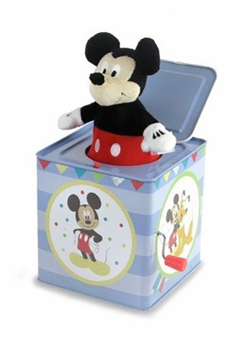 Mickey Mouse Jack-in-the-Box