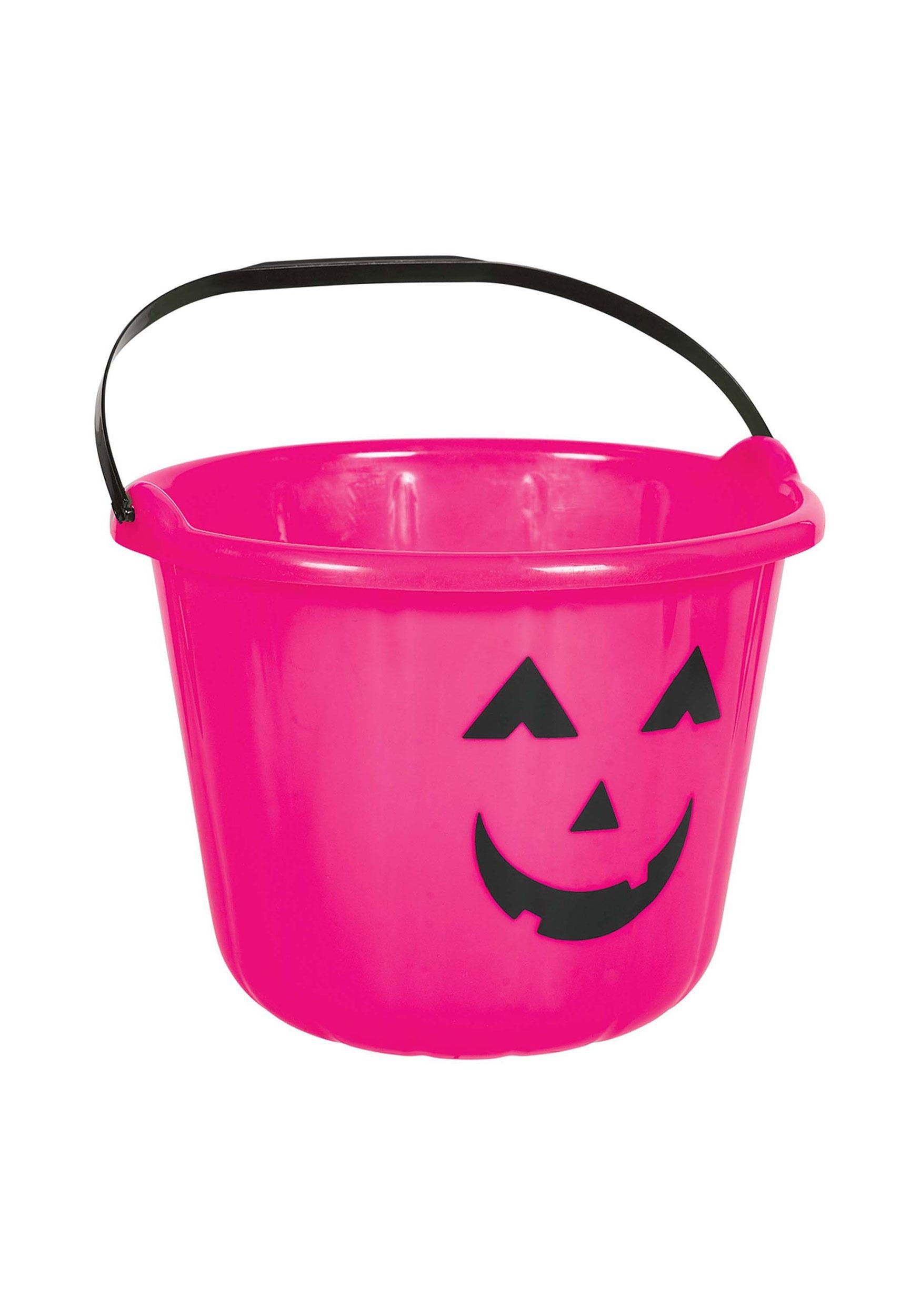 Pink_Halloween_Pumpkin_Treat_Bucket
