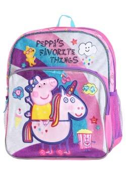 """Kid's Peppa Pig's Favorite Things 14"""" Backpack"""
