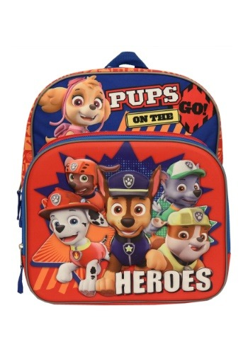 "Kids Paw Patrol Heroes 14"" Backpack"