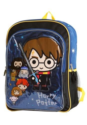 "Kids Harry Potter Chibi 16"" Backpack"