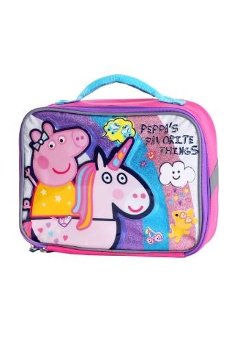 Peppa Pig's Favorite Things Kids Lunch Tote