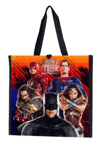 Justice League Treat Bag Reusable Tote