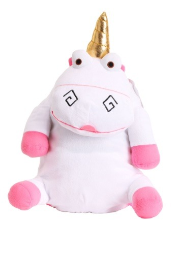 Kids Despicable Me Fluffy Unicorn Plush Backpack
