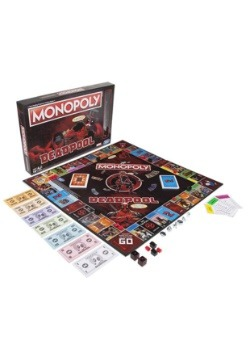 Hasbro Marvel Deadpool Edition Monopoly Board Game