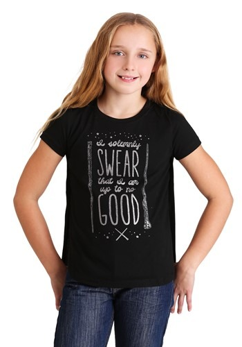 Harry Potter I Solemnly Swear Girls T-Shirt