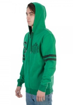 Harry Potter Slytherin Fleece Hoodie alt 2