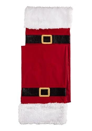 Fabric Santa Table Runner