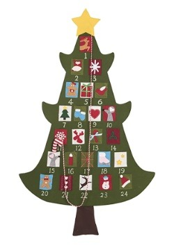 "Christmas Tree 52"" Advent Calendar"
