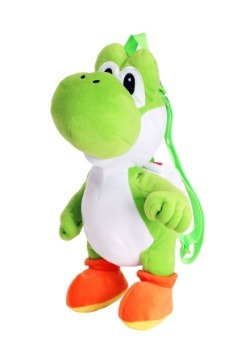 Super Mario Yoshi Plush Backpack