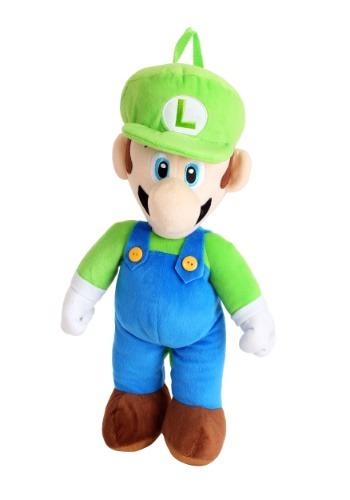 Super Mario Luigi Plush Backpack