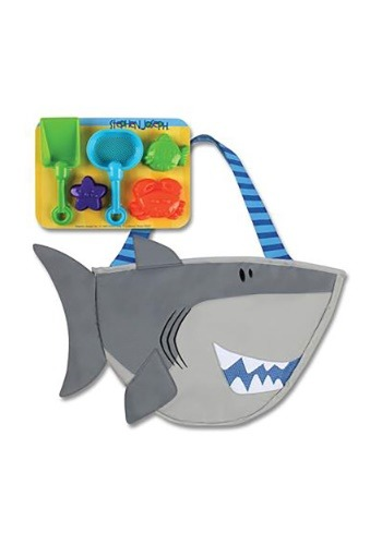 Stephen Joseph Shark Beach Tote