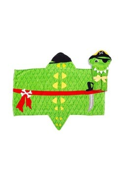 Stephen Joseph Alligator Hooded Towel