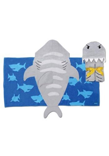 Stephen Joseph Shark Hooded Towel