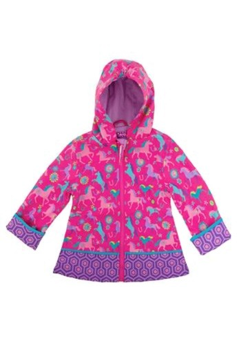 Horse All Over Print Child Raincoat