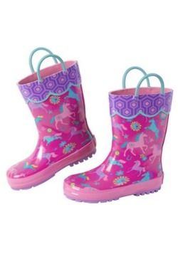 Stephen Joseph Horse All Over Print Rainboot