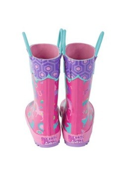 Stephen Joseph Horse All Over Print Rainboot Alt2