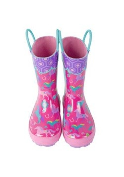 Stephen Joseph Horse All Over Print Rainboot Alt3