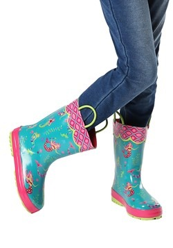 Stephen Joseph Mermaid All Over Print Rainboot