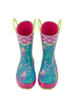Stephen Joseph Mermaid All Over Print Rainboot Alt3