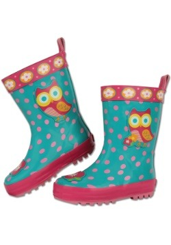 Stephen Joseph Owl Child Rain Boots