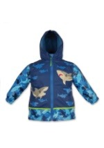 Stephen Joseph Shark Child Raincoat