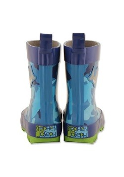 Stephen Joseph Shark Child Rain Boots Alt2