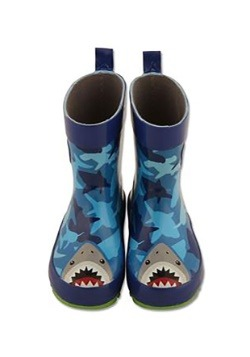 Stephen Joseph Shark Child Rain Boots Alt3