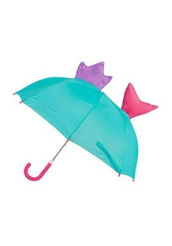 Stephen Joseph Mermaid Pop-Up Umbrella Alt2