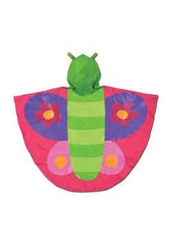 Stephen Joseph Butterfly Rain Poncho Alt2