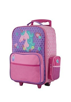 Stephen Joseph Unicorn Rolling Luggage