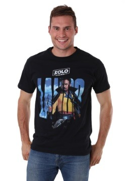 Solo: A Star Wars Story Lando Movie Poster Black T-Shirt