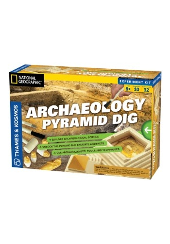National Geographic Archaeology Pyramid Dig