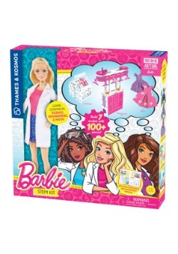 Barbie Doll w/Barbie STEM Kit