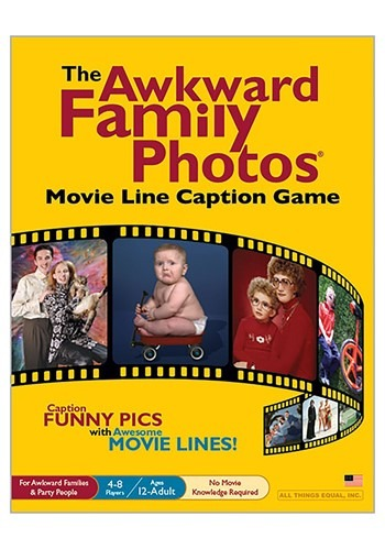 The Awkward Family Photos Movie Line Caption Party