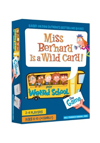 Miss Bernard is a Wild Card- The My Weird School Game