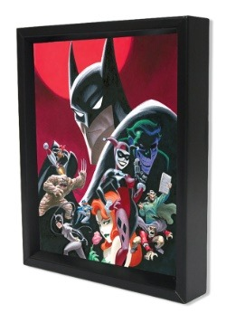 Batman – Animated Series Cast 8x10 Lenticular Shadowbox