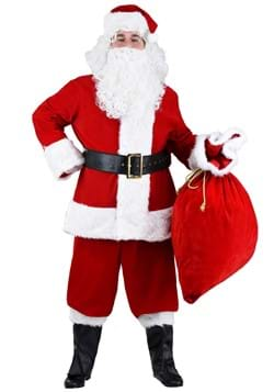 Plus Size Premium Santa Suit Costume