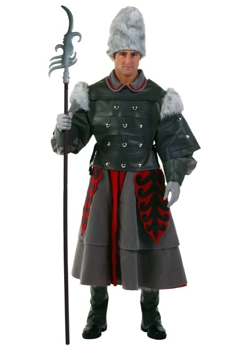 Plus Size Witch Guard Costume For Adults