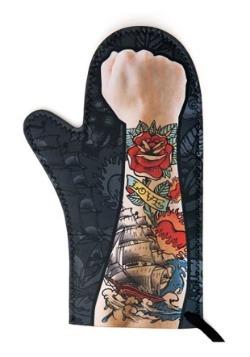 Tattoo Oven Mitt