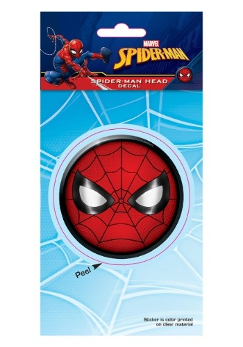 Spider-Man Head Decal