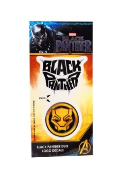 Marvel Black Panther Logo Duo Decal