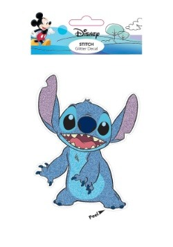Lilo and Stitch Stitch Glitter Decal