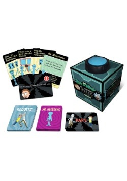 Rick and Morty: Mr. Meeseeks Box O` Fun Adult Party Game