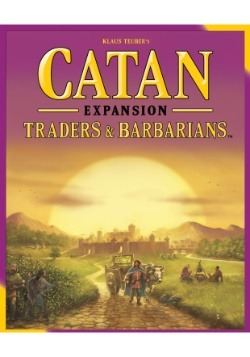 Catan: Traders and Barbarians Board Game Expansion