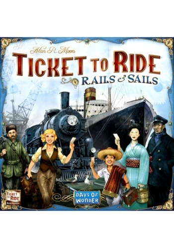 Ticket to Ride: Rails and Sails Board Game